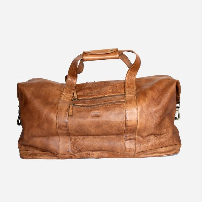 maleta de piel hombre